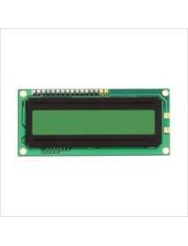 2x16 Sol Üst Yeşil LCD