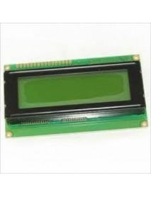 4X20 Sol Üst Yeşil LCD