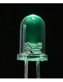 5MM ŞEFFAF YEŞİL LED