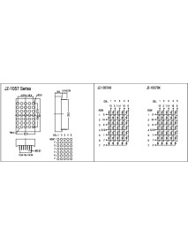 5X7 3.0MM Anot Dot Matrix