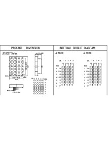 5x7 5MM Anot Dot Matrix