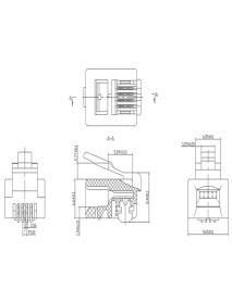 RJ11 6p4c