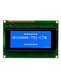 4X16 Sol Üst Mavi LCD